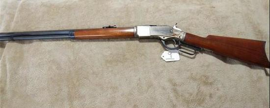 CIMARRON REPEATING ARMS, 1873 WINCHESTER 45 CAL