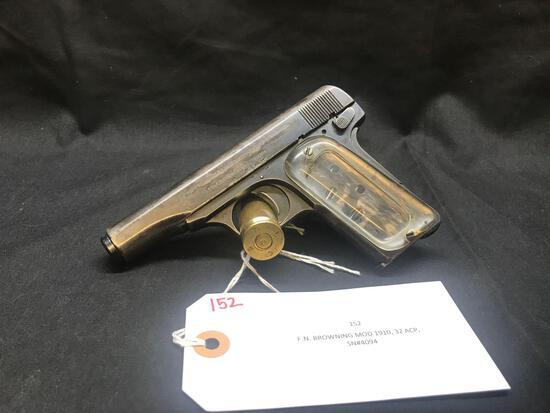 F.N. BROWNING MOD 1910, 32 ACP, SN#4094
