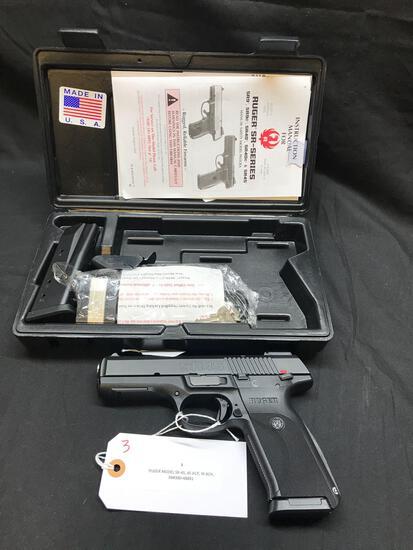 RUGER MODEL SR-45, 45 ACP, IN BOX, SN-380-48891