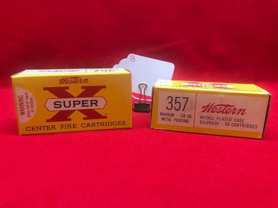 WESTERN SUPER-X, 357 MAG, METAL PIERCING