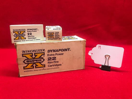 WINCHESTER DYNA POINT, 22 CAL, LONG RIFLE, 500 ROUND BRICK