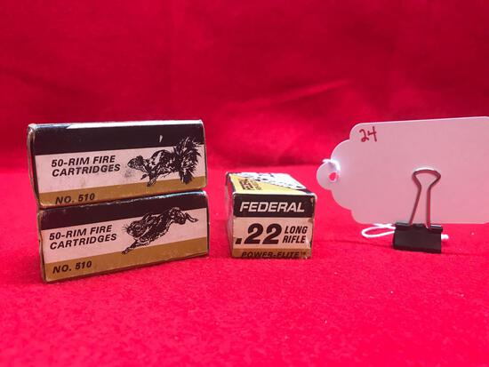 FEDERAL POWER FLITE, 22 CAL, 3 BOXES