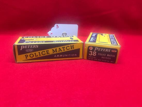 PETERS POLICE MATCH, 38 SPECIAL