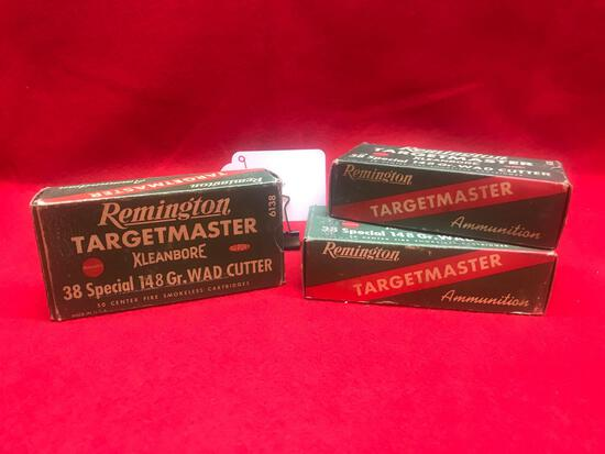 REMINGTON TARGET MASTER, 38 SPECIAL WAD CUTTER