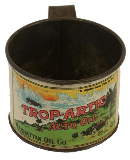 Trop Artic Handled Drinking Cup Oil Can