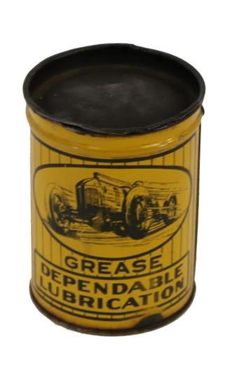 Hansen & Jensen Dependable Quality Grease Can