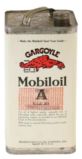 Mobiloil Gargoyle One Gallon Can