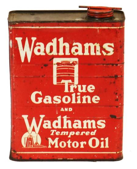 Wadhams True Gasoline & Wadhams Tempered Motor Can