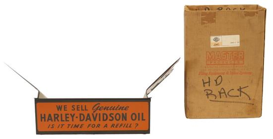 We Sell Harley Davidson Oil Parts Book Binder