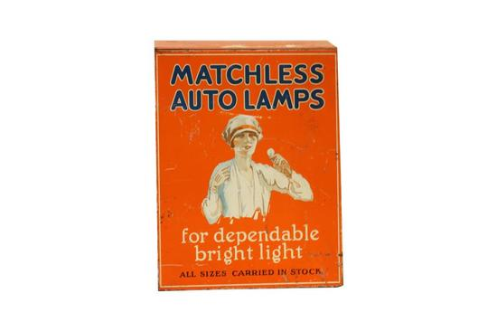 Matchless Auto Lamps Counter Top Display Cabinet
