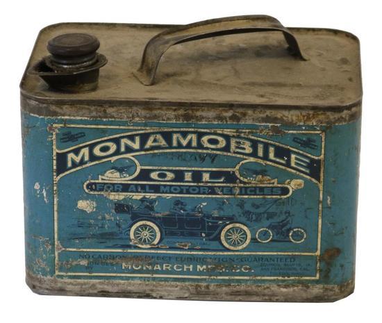 Monamobile Oil One Gallon Oil Can