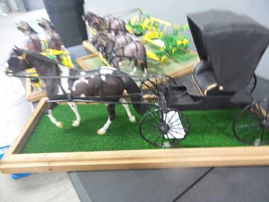 Hand Made Horse Buggy Model