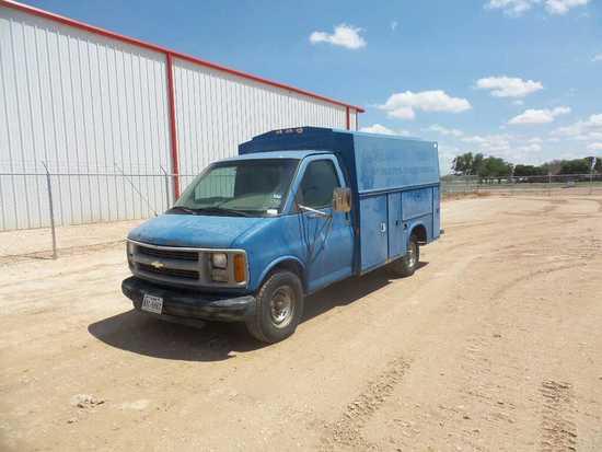 *2001 Chevrolet Express Service Van