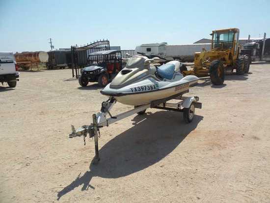 *1999 Bombardier GTX Sea Doo Jet Ski with Trailer