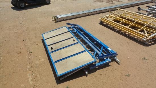 Scaffolding Platform with Side Rails