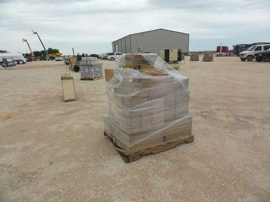 Pallet of Cat Oil and Air Filters