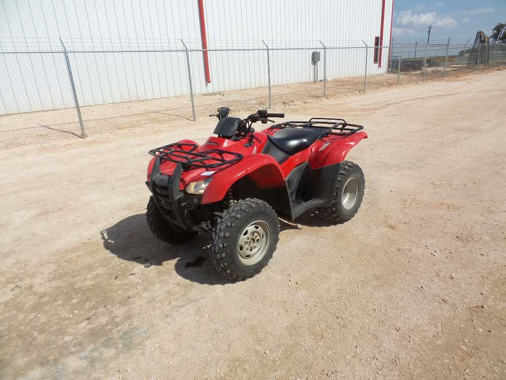 *2012 Honda TRX420FE ATV