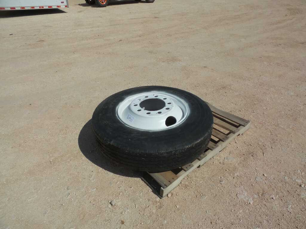 (1) Tire and Wheel