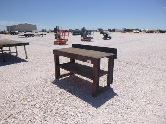 Heavy Duty Shop Table