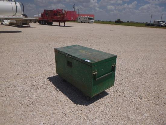 Greenlee Shop Tool Box with Air Hoses