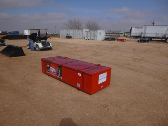 Unused Golden Mountain PE Dome Storage Shelter