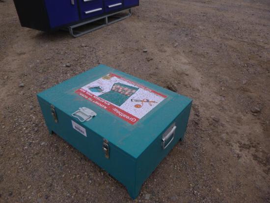 Unused Tie Down Straps & Storage Box