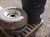 Pallet of (6) Spare Tires
