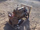 6 Cyl Gasoline Engine on Frame