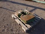 (10) John Deere Tractor Weights