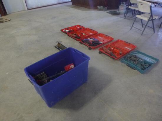 Pallet of Miscellaneous Power Tools