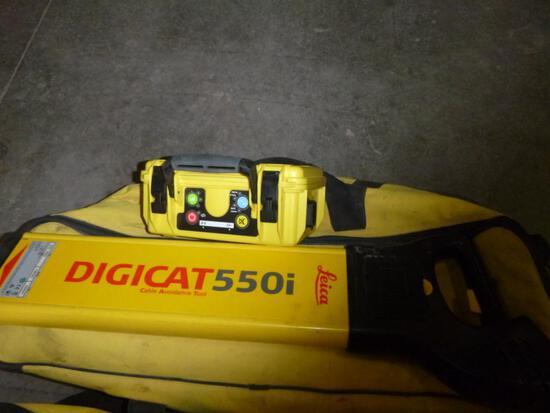 (2) Leica, Digicat 550i Cable Avoidance Tool