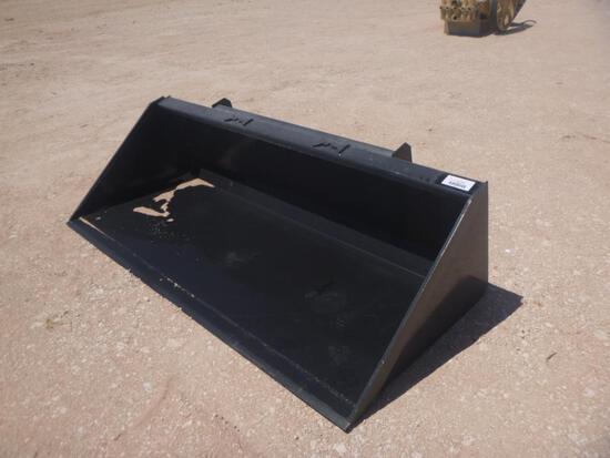 Unused 78'' Skid Steer Bucket