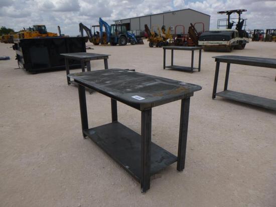 Heavy Duty 30x57'' Welding Table with Shelf