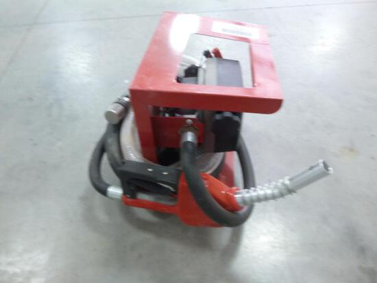 Unused Transfer Fuel Pump with High Accuracy Meter