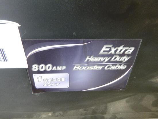 Unused Booster Cable Extra Heavy Duty 25ft