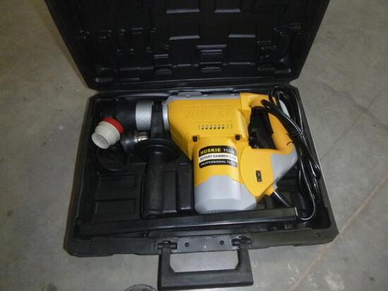 Unused Electric Huskie Rotary Hammer Drill 32mm