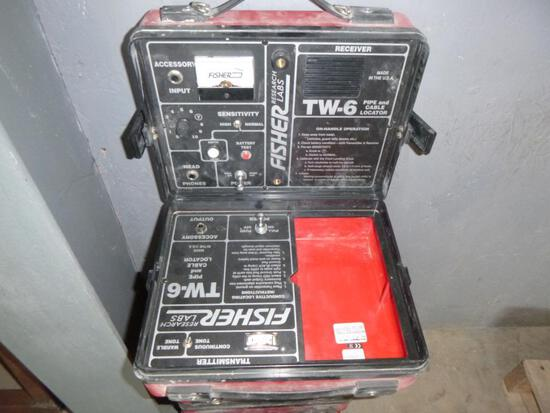 (4) Fisher TW-6 Pipe & Cable Locators