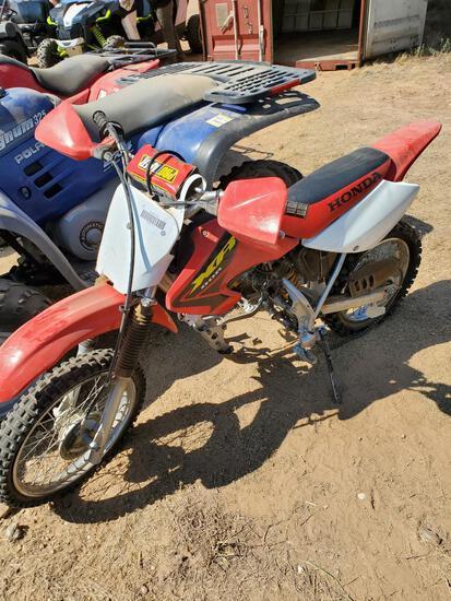 Honda 80R Dirt Bike