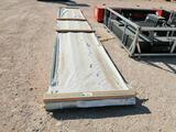62 R Panel Ivy Green Sheet Metal 20 Ft Long