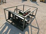 Unused Greatbear Trencher, Skid Steer Attachment