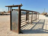 24ft Cattle Alleyway with a Side Door