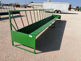 Unused 20ft Cattle Feed Trough