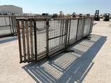 Set of (6) 20FT Long 4'6''High Goat Panels (1)with 4ft Gate