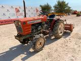Yanmar YM1602D Tractor with Cultivator Tiller