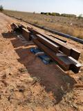 Lot of Miscellaneous Steel I beams