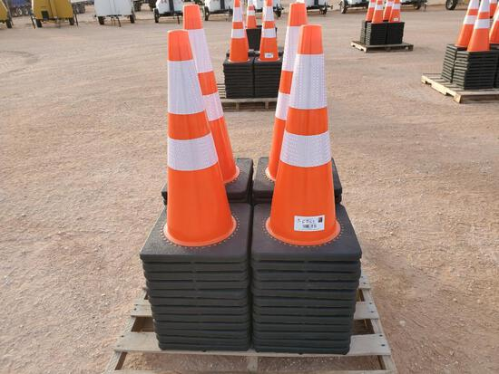 (50) Safety Road Cones