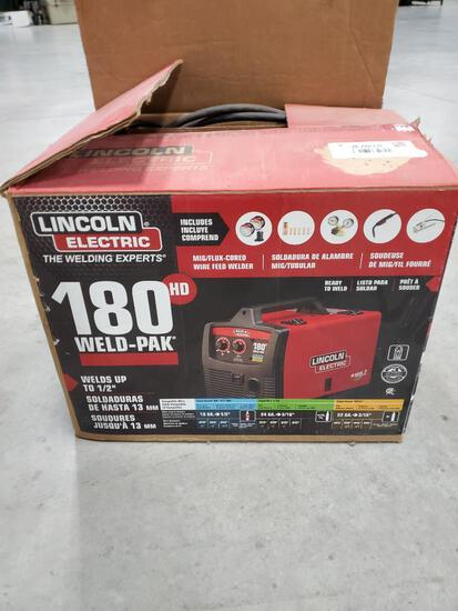 Unused Lincoln Electric Wire Welder, 180 Weld-Pak