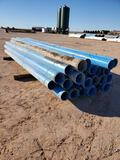 (23 Joints) 8'' PVC Pipe 20ft Joints
