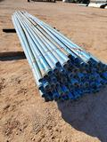 Bundle of 2 1/2'' PVC Pipe 20ft Joints