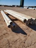 (8) 10'' PVC Pipe 20ft Joints (3) 8'' PVC Pipe 20ft Joints